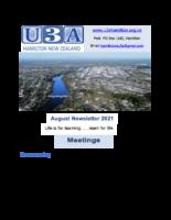 August newsletter.2021